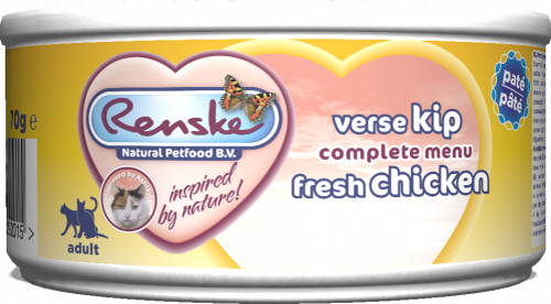 Renske Cat fresh meat chicken – świeże mięso kurczaka 70 g