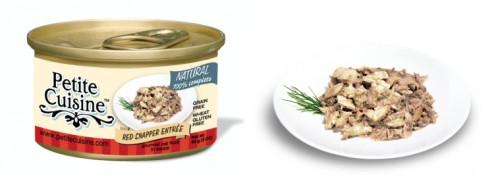 Petite Cuisine - Filety z ryb lucjan czerwony i tuńczyk pacyficzny (85 g)