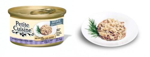 Petite Cuisine - Filety z tuńczyka i kraba (85 g)