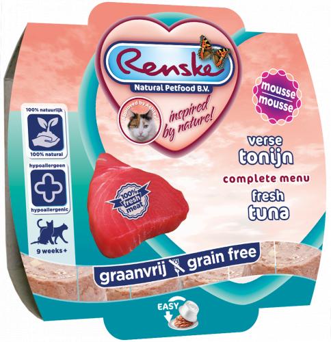 Renske Cat fresh tuna- świeży tuńczyk 100 g