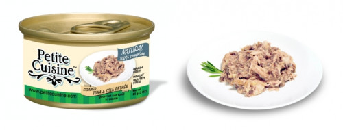 Petite Cuisine - Filety z tuńczyka i soli morskiej (nie hodowlanej) 85 g