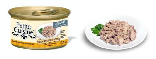 Petite Cuisine - filety z tuńczyka i tuńczyka albakory (85 g)